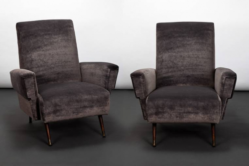 Italian 1950`s Club Chairs