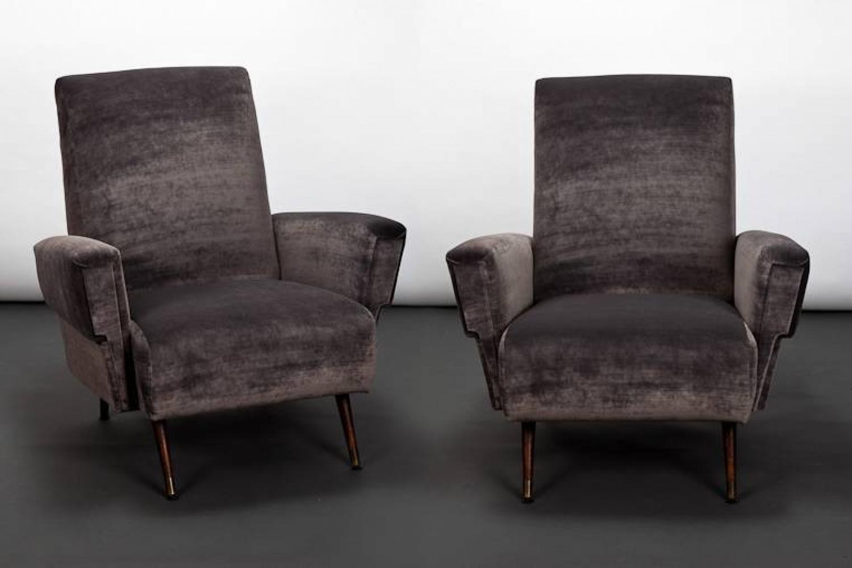 Italian 1950`s Club Chairs