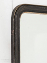 Black & Silver Overmantel Mirror - picture 2