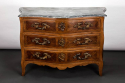 Early C19th Marble Top Commode - picture 1