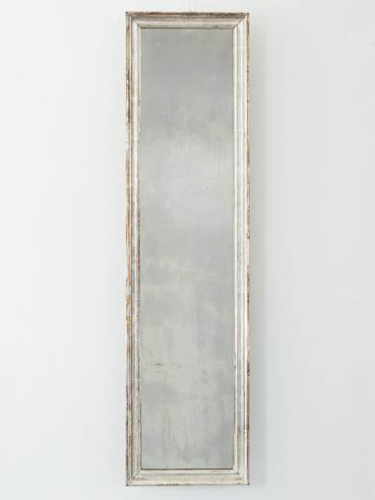 Narrow Silver leaf Mirror