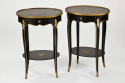 Pair of Chinoiserie Side Tables - picture 1