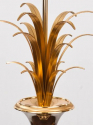 Pair of  French 1970`s Maison Charles style palm lamps - picture 3