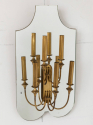 Pair of Mirrored Wall Lights - picture 2