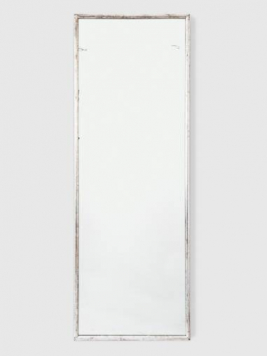 Tall Silver leaf Dressing Mirror