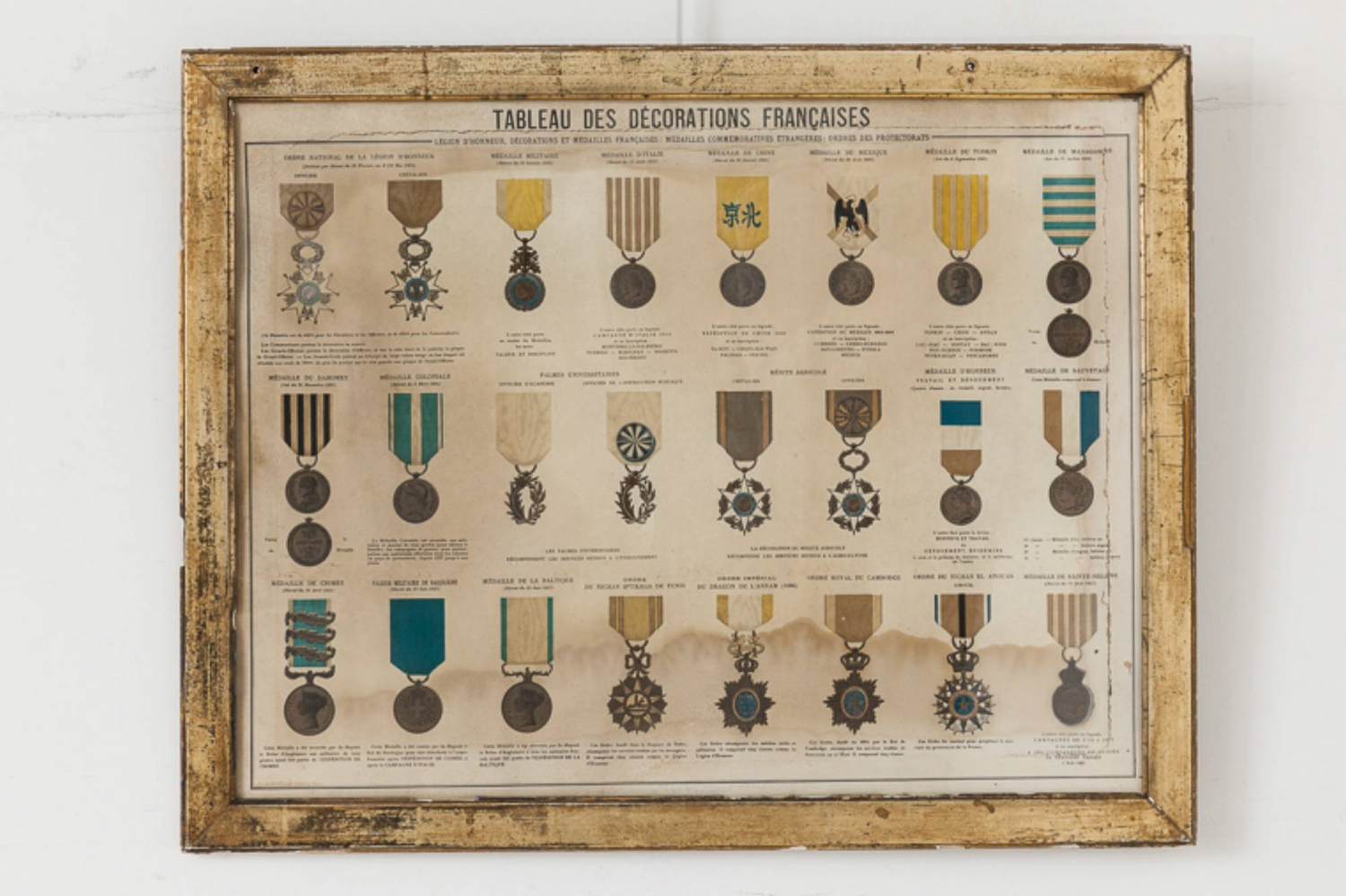 French Medals Print