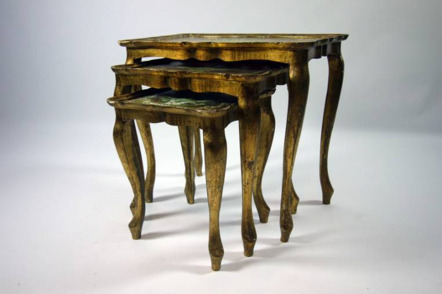 French 1950s Nest of Tables