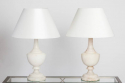 Pair of Alabaster Table Lamps - picture 1