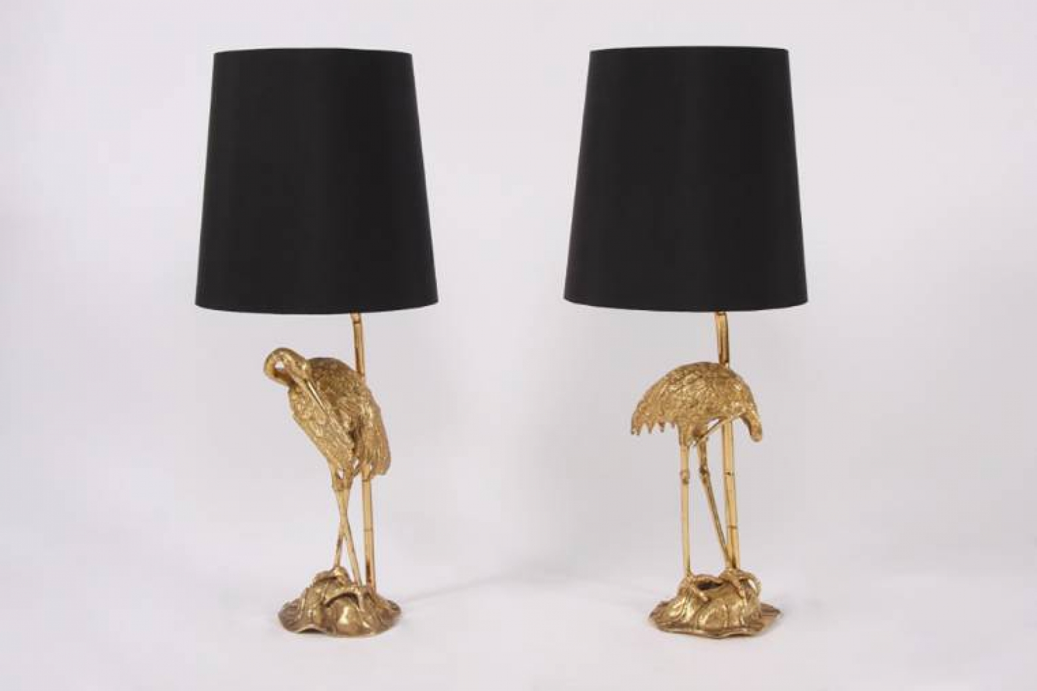 Pair of Stork Table Lamps