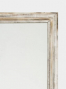 Large C19th French silver leaf mirror. - picture 2