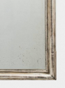 Large C19th French silver leaf mirror. - picture 3
