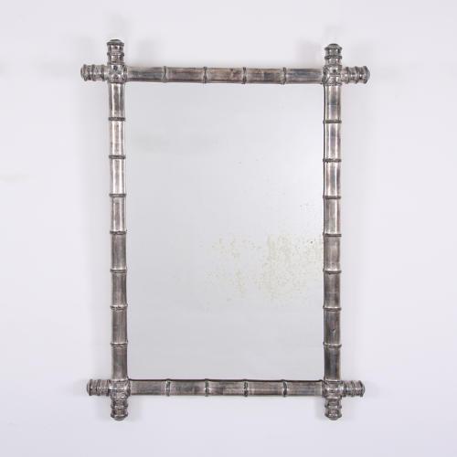 Silver Bamboo Mirror