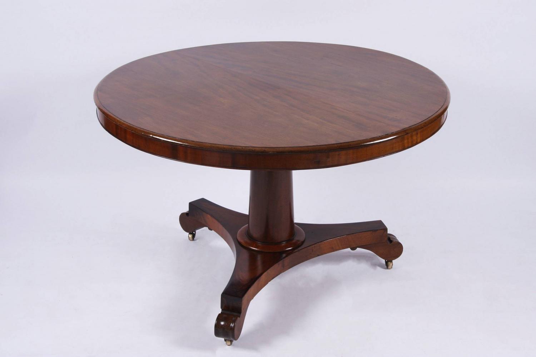 C19th Mahogany Centre Table