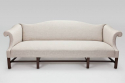 C19th English Camel Backed Sofa - picture 1