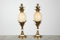 Pair of French Ostrich Egg Lamps - picture 2