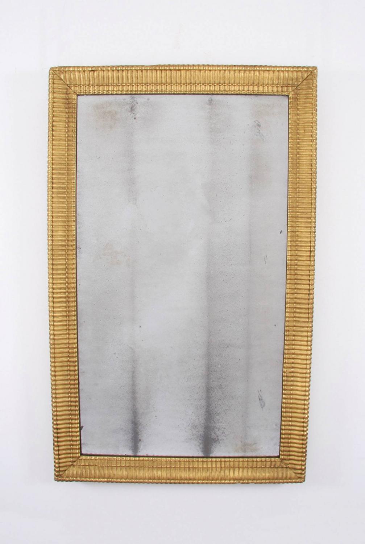 Giltwood Wavy Mirror