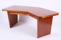 Sapele `Boomerang` Desk - picture 2
