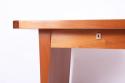 Sapele `Boomerang` Desk - picture 3