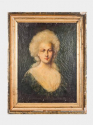 C19th French portrait of a lady - picture 2