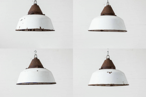 Set of Four Pendants/Ceiling Lights