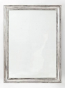 C19th French Silver Leaf Mirror - picture 1