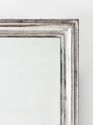 C19th French Silver Leaf Mirror - picture 3
