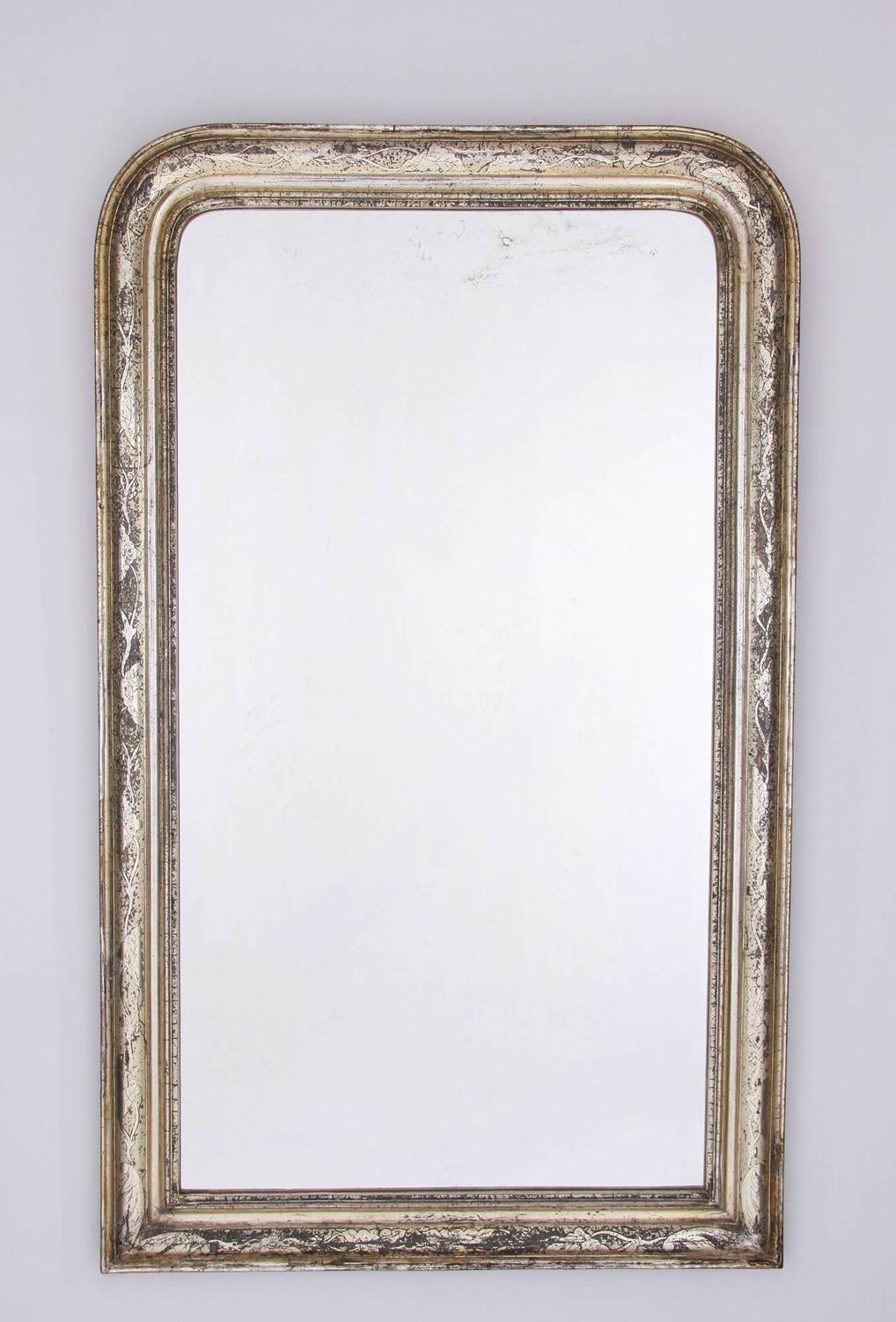 Louis Philipe Overmantel Mirror