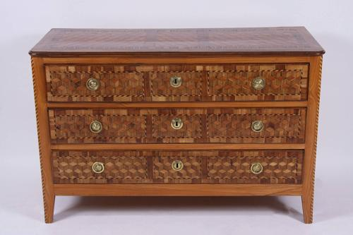 C18th Parquetry Commode