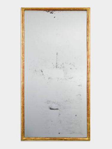 French C19th Gilt Wood Mirror