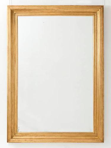 Large C19th French Giltwood Mirror