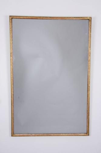 Giltwood Rope Twist Mirror