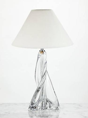 Belgian glass lamp