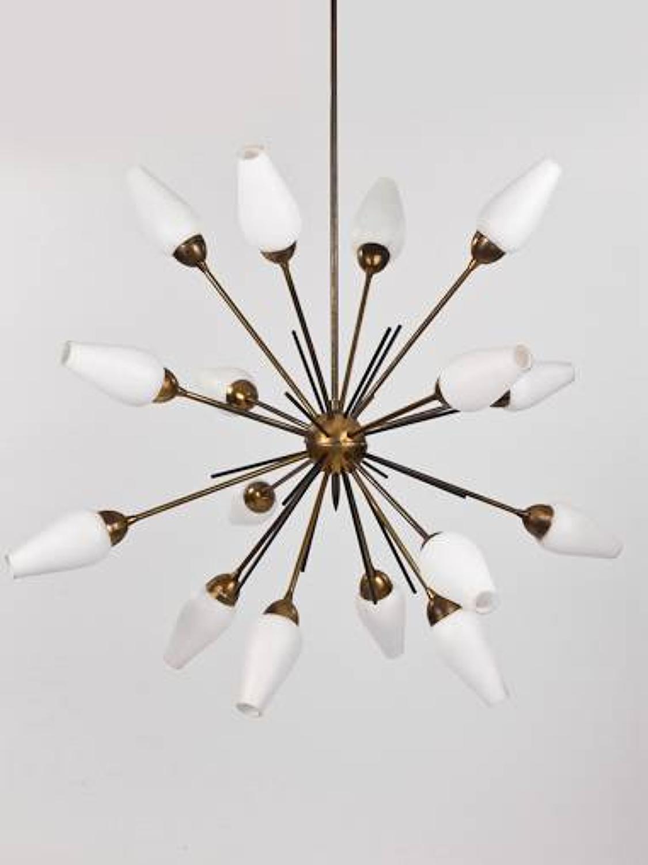 Italian, `Sputnik` Chandelier