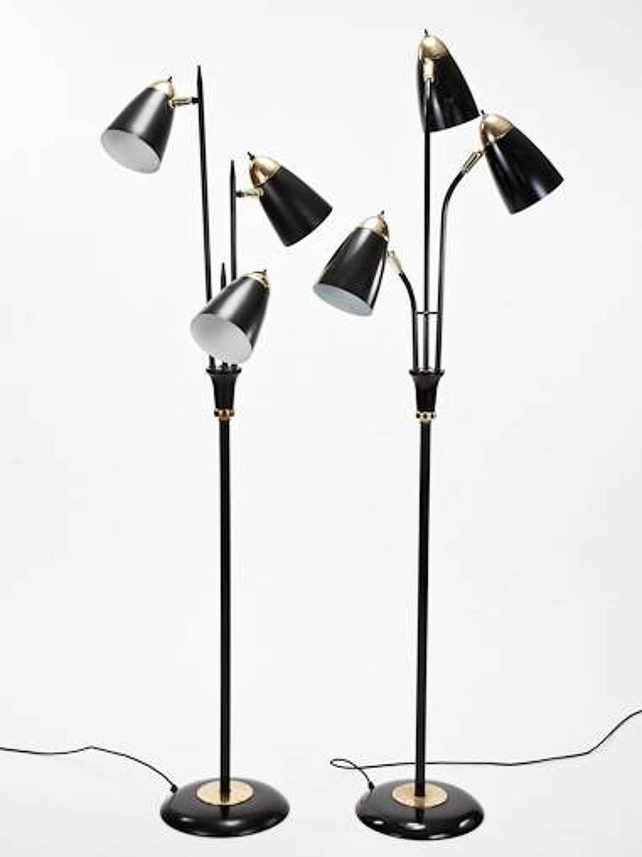 2 1960`s floor lamps