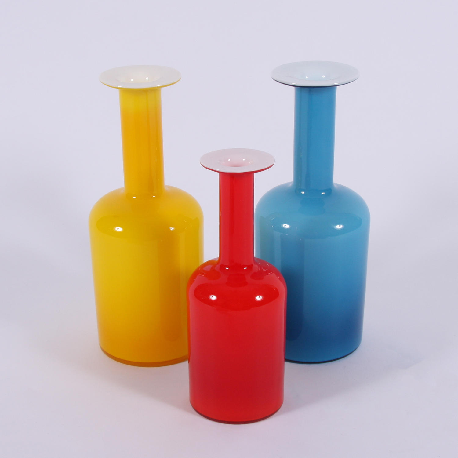 Set of Vases by Holmegaard