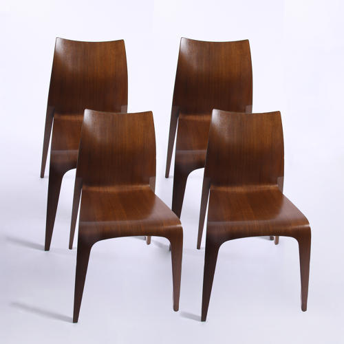 Set of Four Flow Chairs by Jacob Berg