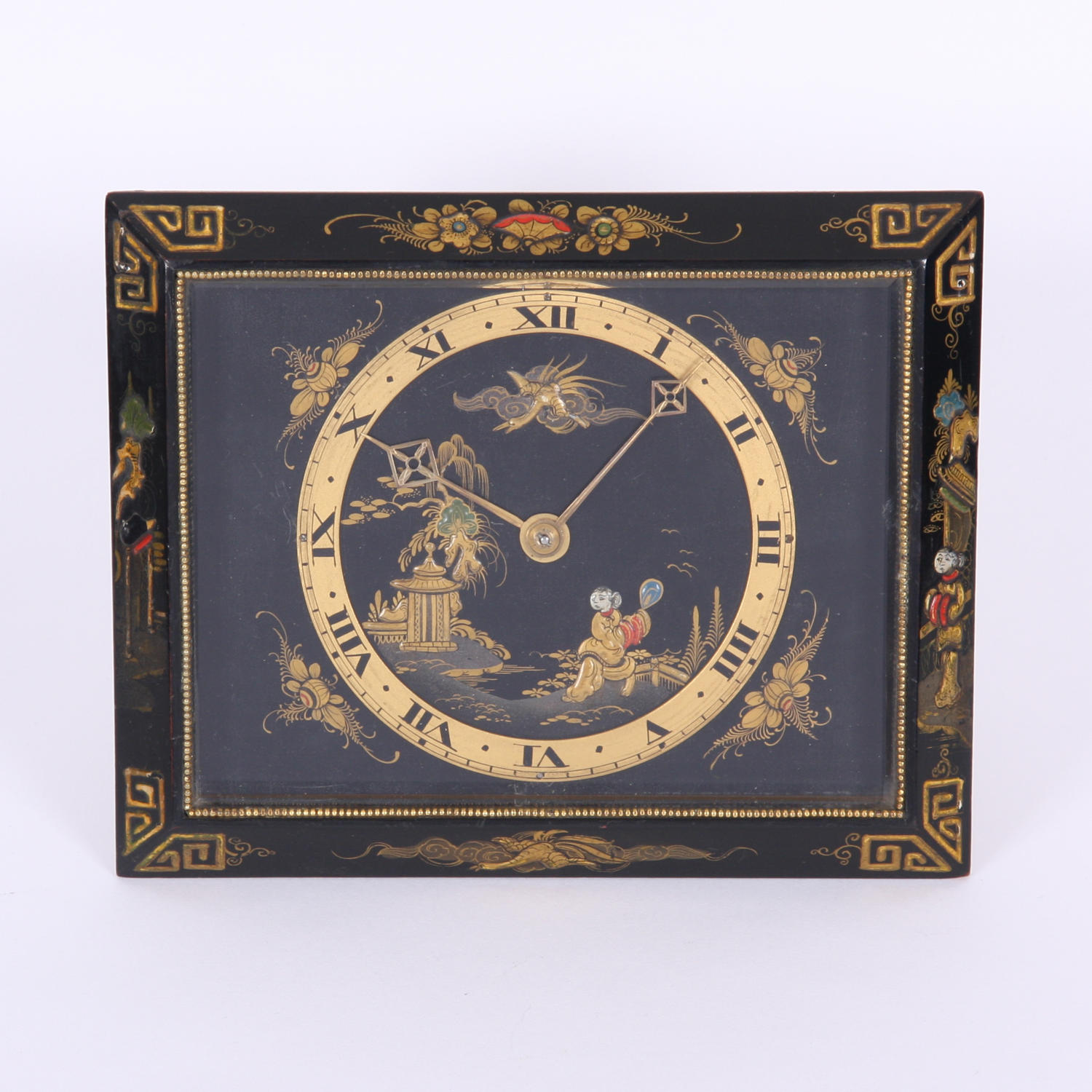 Chinoiserie Clock