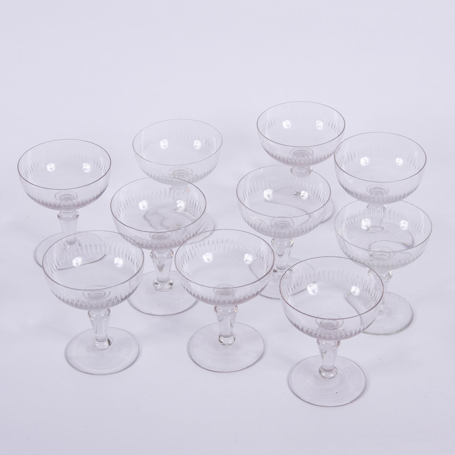 Set of Champagne Coupes