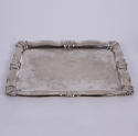 Small Silver Plated Tray - picture 1