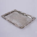 Small Silver Plated Tray - picture 2