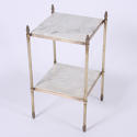 Pair of Brass and Marble Side Tables - picture 3