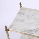 Pair of Brass and Marble Side Tables - picture 4