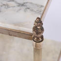 Pair of Brass and Marble Side Tables - picture 5