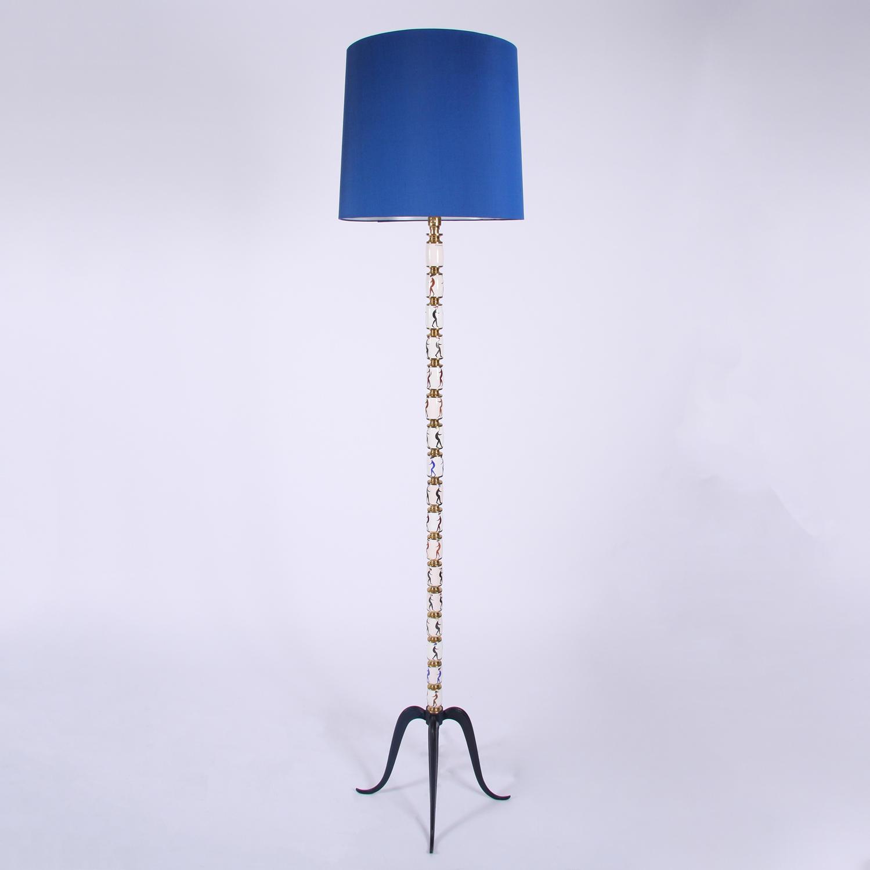 Painted Floor Lamp
