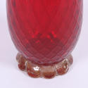 Red Glass Vase Murano - picture 4