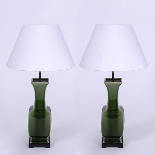Green Ceramic Table Lamps