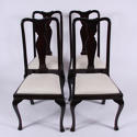 Set of Four Queen Anne Style Chairs - picture 1