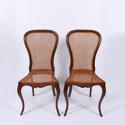 Pair of Caned Chairs - picture 1