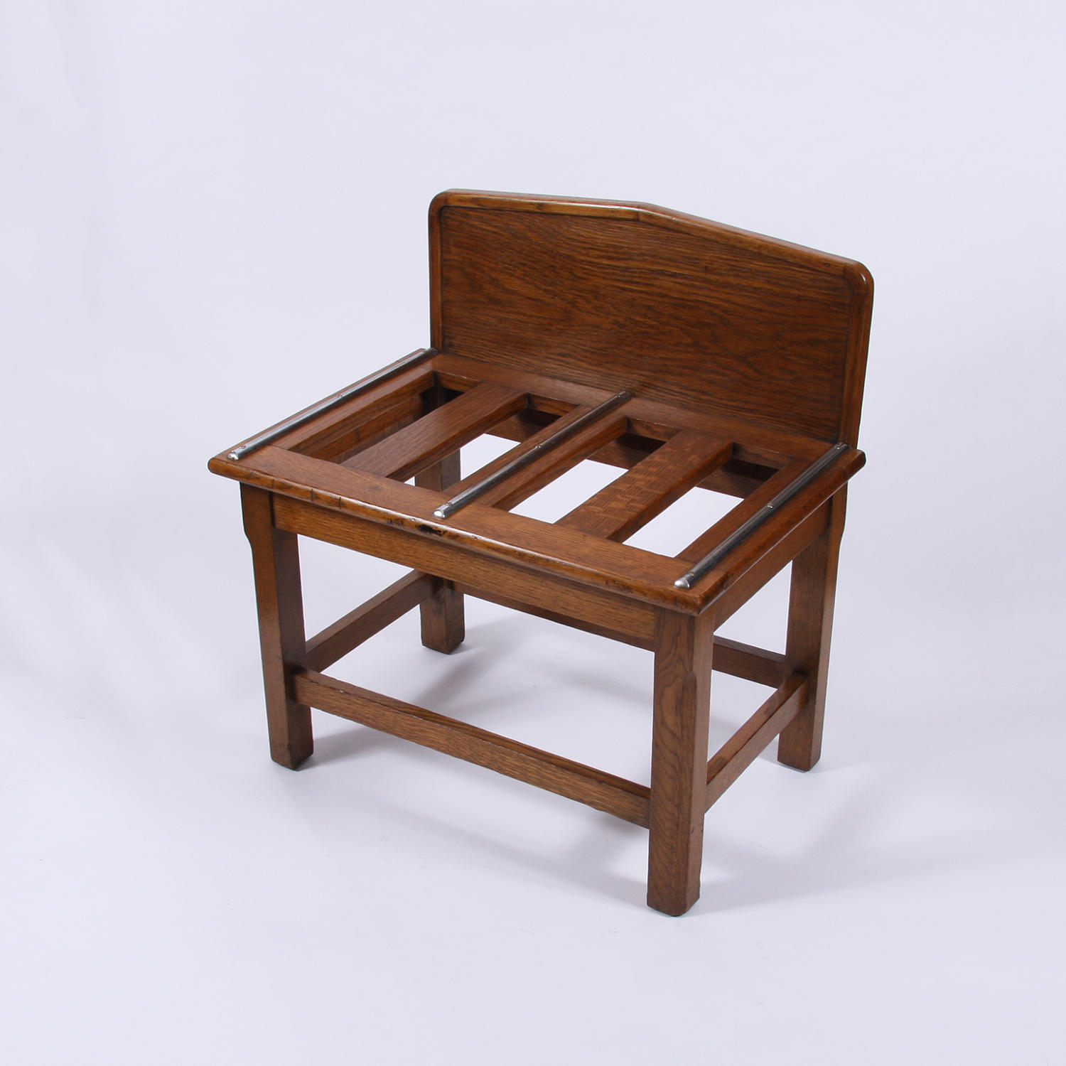 Oak Luggage Rack