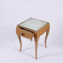 Pair of Mirrored Bedside Tables - picture 3